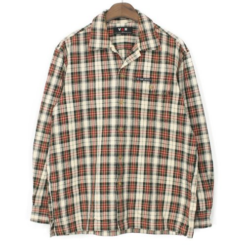 VAN Heavy Flannel Check Shirts