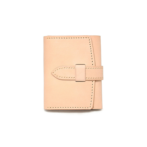 Sam's Warehouse Crafted by Raygoods - 1900's Trifold Wallet [Dakota, Beige]