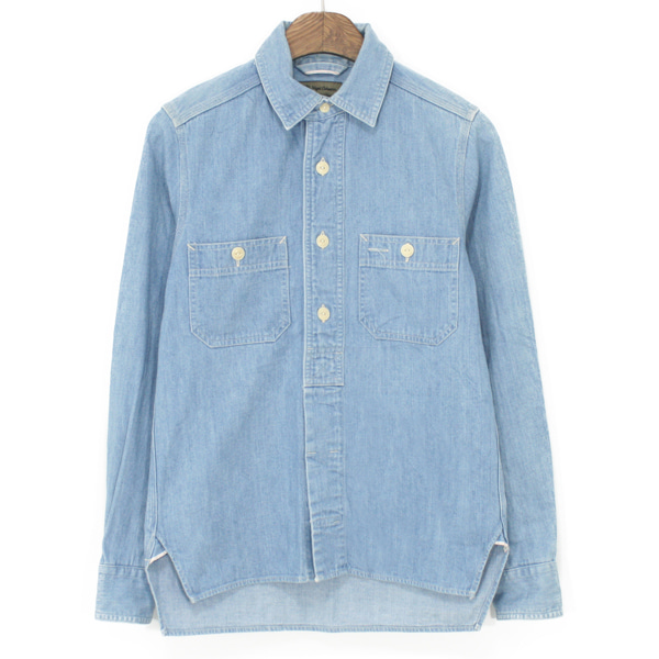 [Women] Nigel Cabourn Denim Work Shirts