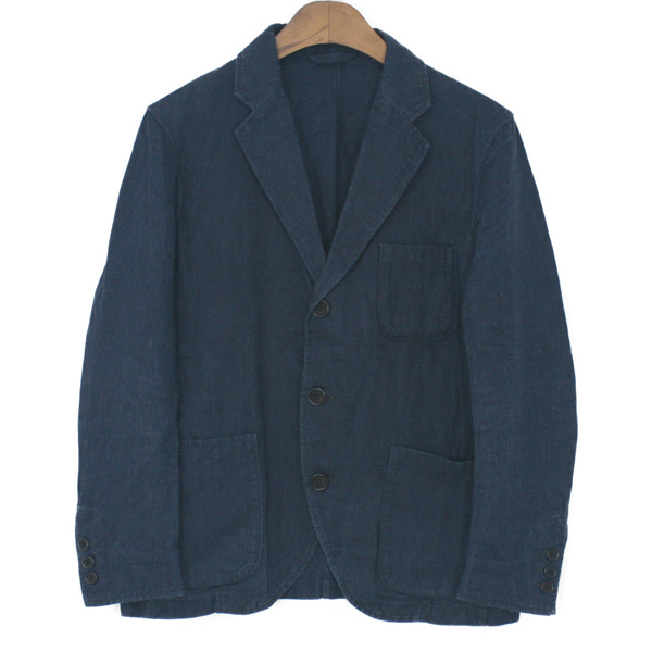 Freemans Sporting Club Cotton & Linen 3 Button Jacket