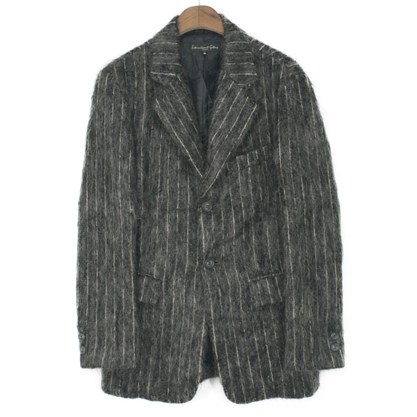 International Gallery Beams Mohair 2 Button Jacket