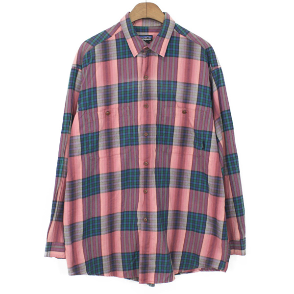 90's Patagonia Flannel Check Shirts