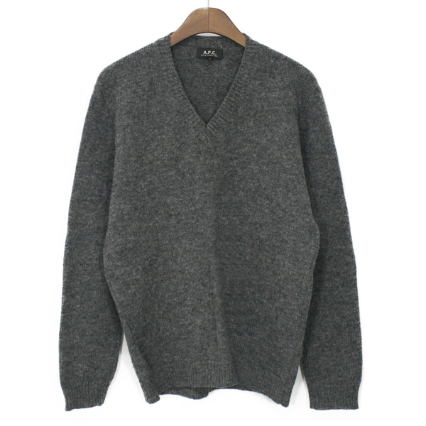 A.P.C V-neck Lambswool Sweater