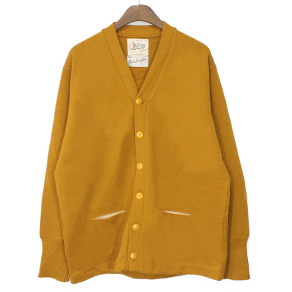 60's Whiting Heavy Wool Letterman Cardigan