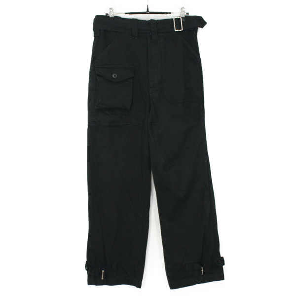 Zucca Belted Cotton Pants