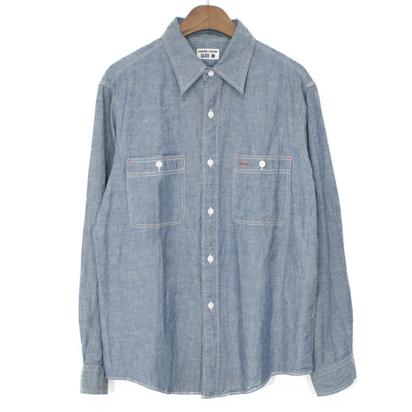 Harriss Loafers Chambray Work Shirts