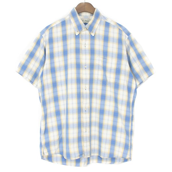 90's L.L Bean Cotton Check Shirts