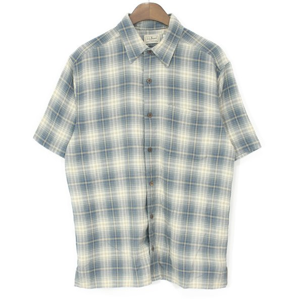 L.L Bean Cotton Check Shirts