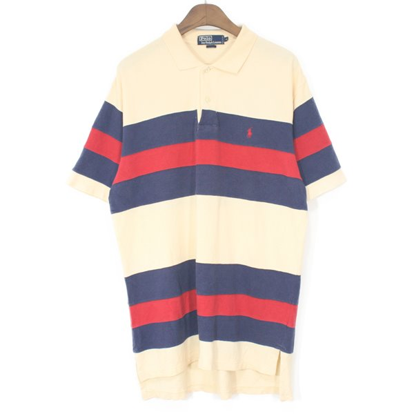 90's Polo Ralph Lauren Stripe Pique Shirts