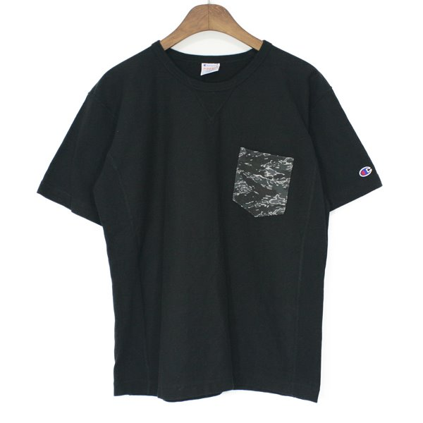 Champion X Ships Reverse Weave Pocket Tee