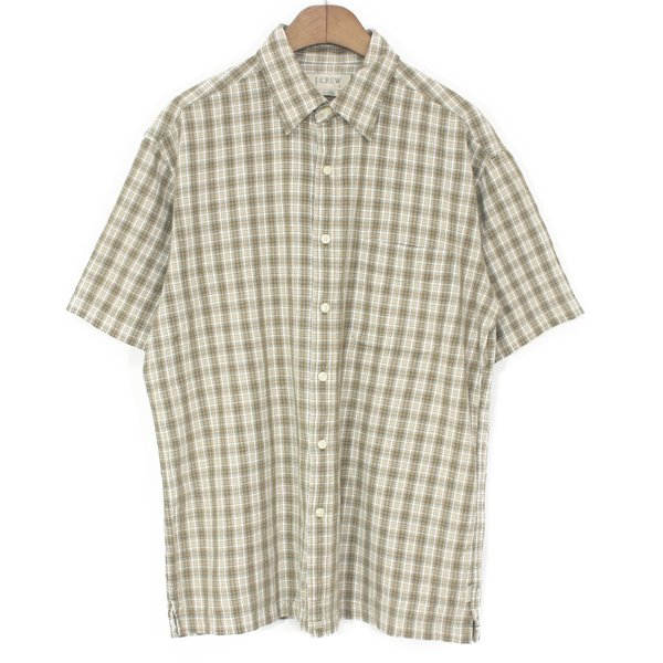00's J.Crew Cotton Check Shirts