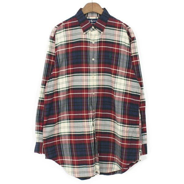 90's Polo Ralph Lauren Oxford Check Shirts