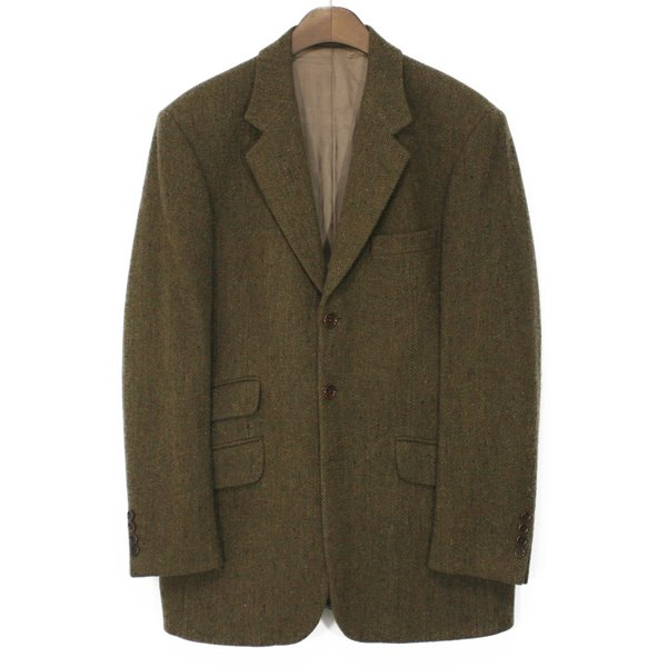 80's Mulberry Wool 3 Button Jacket