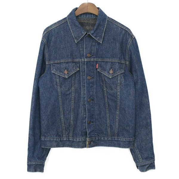 70's Levi's Troy Blanket Denim Jacket