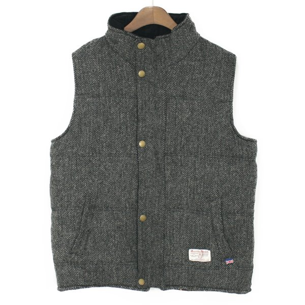 Peregrine Harris Tweed Wool Vest
