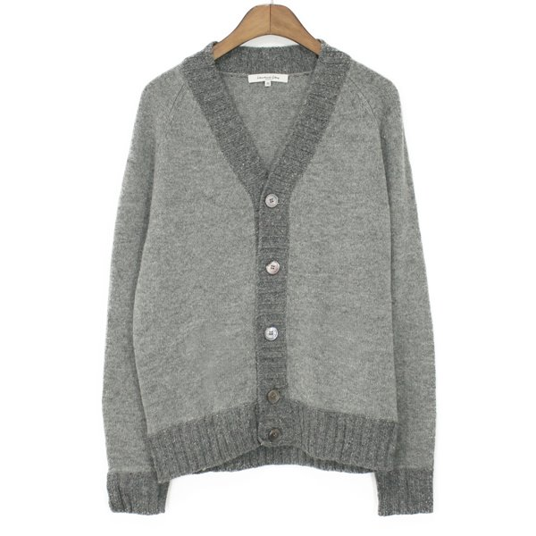 International Gallery Beams Lambswool Cardigan