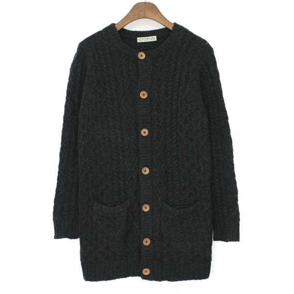 [Woman] Beams Heart Heavy Wool Long Cardigan