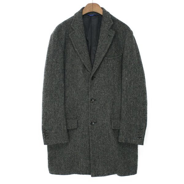 Global Tailoring Harris Tweed Wool Single Coat