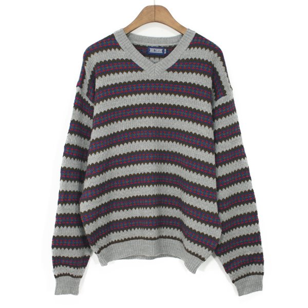 Nigel Cabourn Wool V-neck Sweater