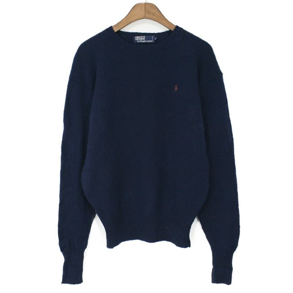 90's Polo Ralph Laurel Lambswool Sweater