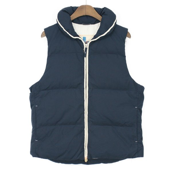 [Woman] vm-blue Down Vest