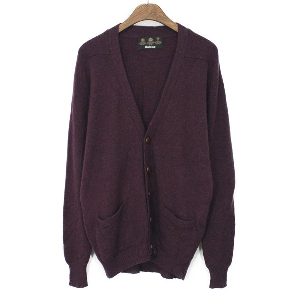 Barbour Lambswool Cardigan