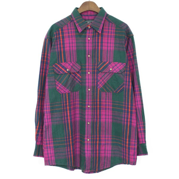 90's Woolrich Flennel Check Shirts