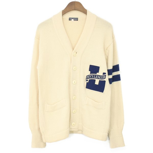 Ivy's League Wool Letterman Cardigan