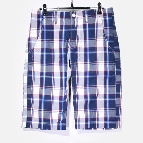 Edwin Cotton Check Half Pants