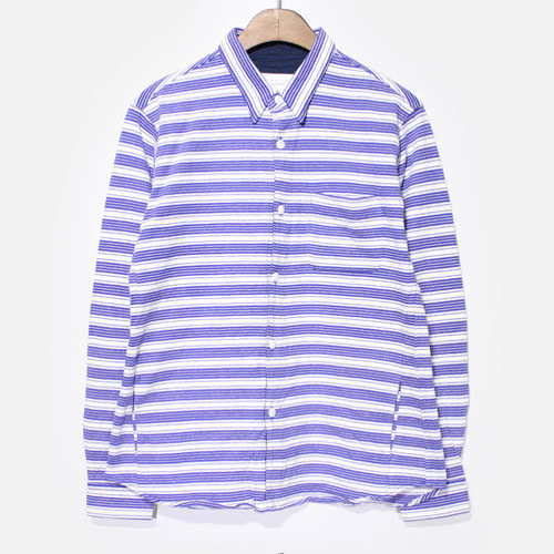 Curly Cotton Stripe Shirts