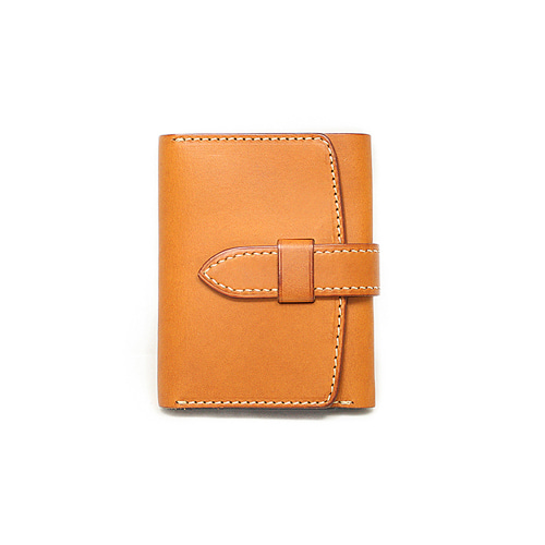 [주문제작] Sam's Warehouse Crafted by Raygoods 1900's Trifold Wallet [Minerva, Tan]