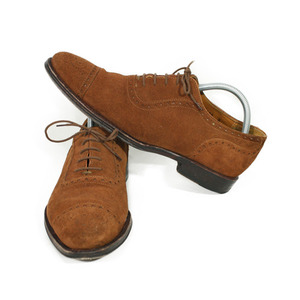 Jalan Sriwijaya Suede Cap Toe Shoes