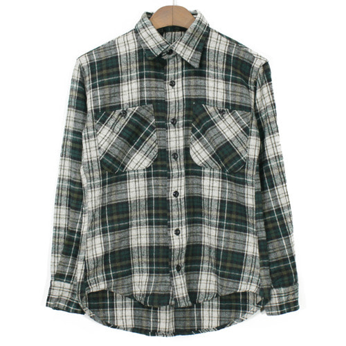 Unknown USA Heavy Flannel Check Shirts