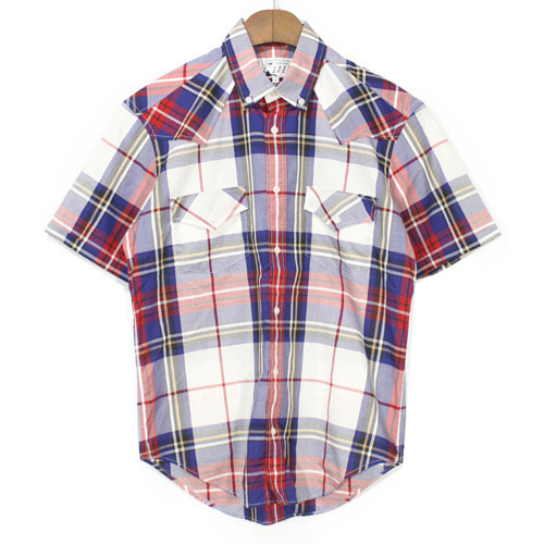 Maison Kitsune Light Cotton Check Shirts